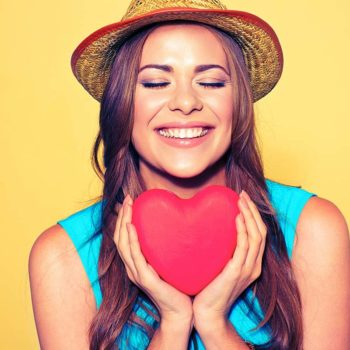 healthy smile for Valentine's Day
